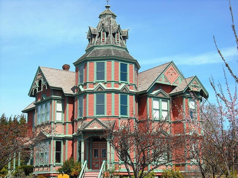Ann Starrett Mansion Port Townsend Washington State